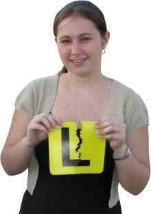 Take driving lessons and rip up your L-plates!